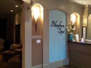 Johns Creek Spa Lobby